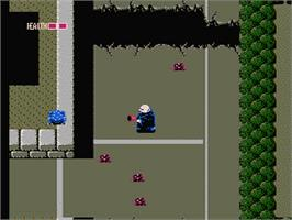 In game image of Fester's Quest on the Nintendo NES.