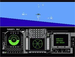 In game image of Flight of the Intruder on the Nintendo NES.