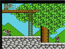 In game image of Hook on the Nintendo NES.