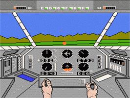 In game image of Infiltrator 2 on the Nintendo NES.