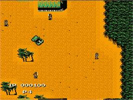 In game image of Jackal on the Nintendo NES.