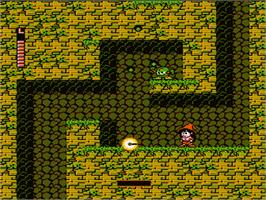 In game image of Krion Conquest on the Nintendo NES.