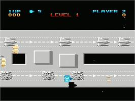 In game image of Last Starfighter on the Nintendo NES.