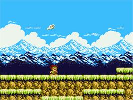 In game image of Little Samson on the Nintendo NES.