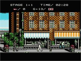 In game image of Mafat Conspiracy on the Nintendo NES.