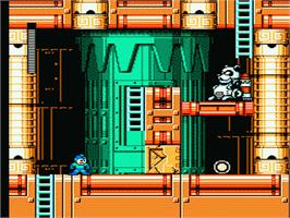 In game image of Mega Man 6 on the Nintendo NES.
