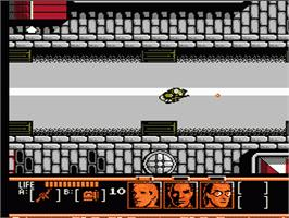 In game image of Mission Impossible on the Nintendo NES.
