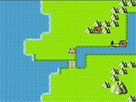 In game image of Momotarou Densetsu on the Nintendo NES.