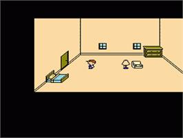 In game image of Mother on the Nintendo NES.