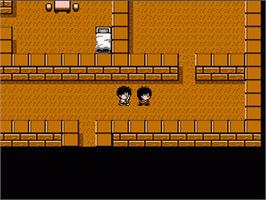 In game image of Mouryou Senki Madara on the Nintendo NES.