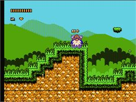 In game image of Noah's Ark on the Nintendo NES.