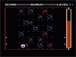 In game image of Orb-3D on the Nintendo NES.