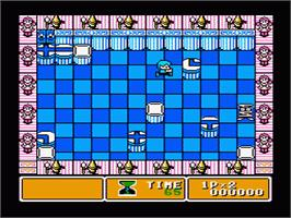 In game image of Parallel World on the Nintendo NES.
