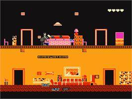 In game image of Pesterminator: The Western Exterminator on the Nintendo NES.