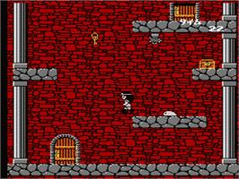 In game image of Quest of Ki on the Nintendo NES.