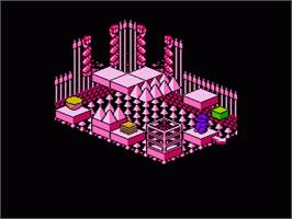 In game image of Solstice: The Quest for the Staff of Demnos on the Nintendo NES.