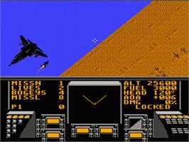 In game image of Stealth ATF on the Nintendo NES.