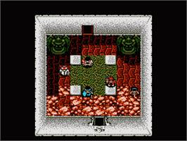 In game image of Sweet Home on the Nintendo NES.