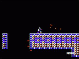 In game image of Thexder on the Nintendo NES.