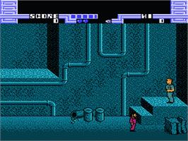 In game image of Total Recall on the Nintendo NES.
