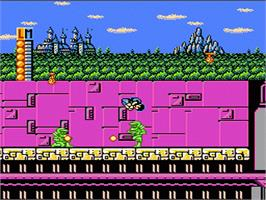 In game image of Totally Rad on the Nintendo NES.
