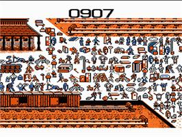 In game image of Where's Waldo? on the Nintendo NES.