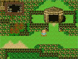 In game image of Willow on the Nintendo NES.