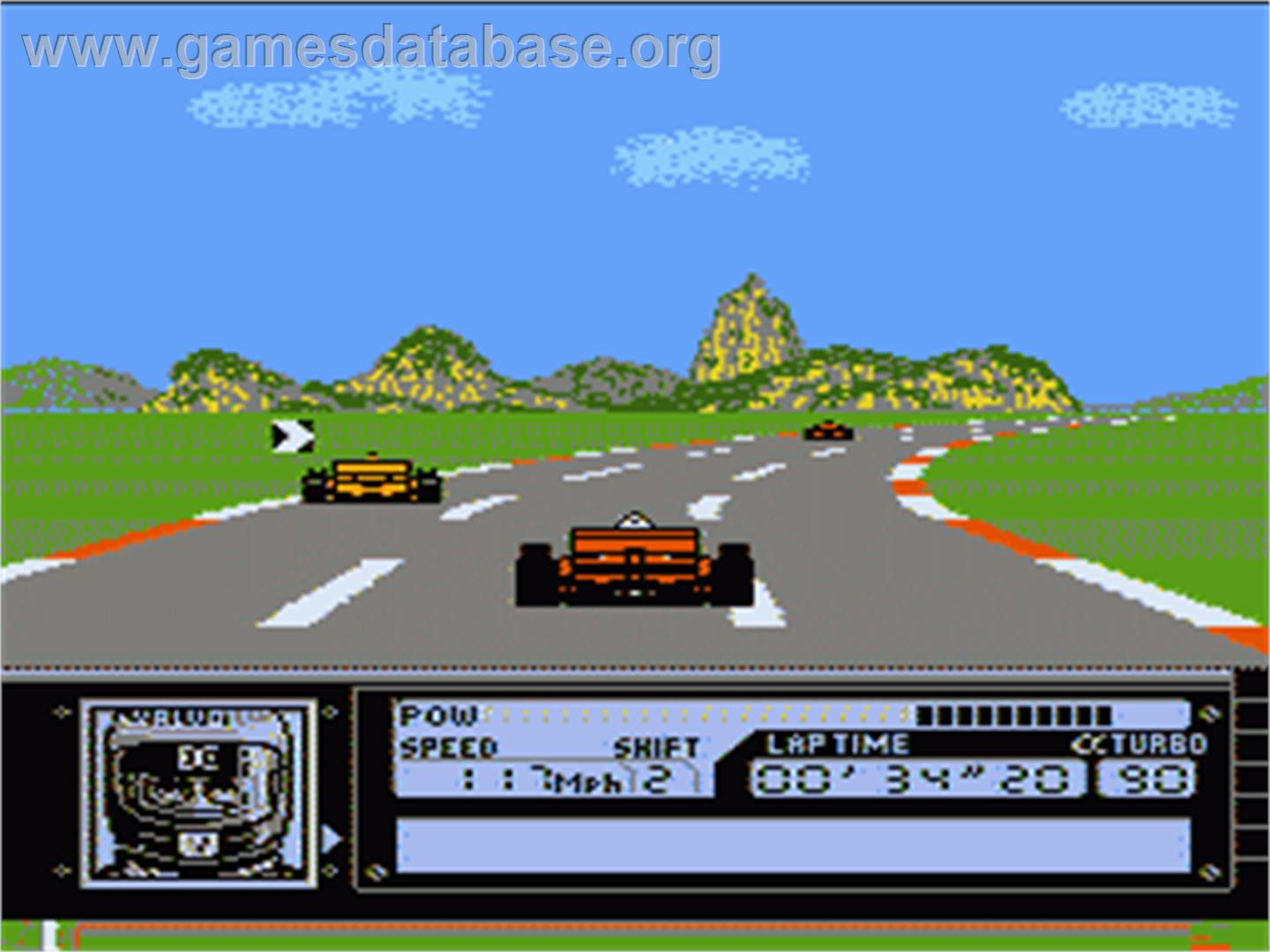 Al Unser Jr Turbo Racing   1990   Data East Corporation - Videojuegos de coches
