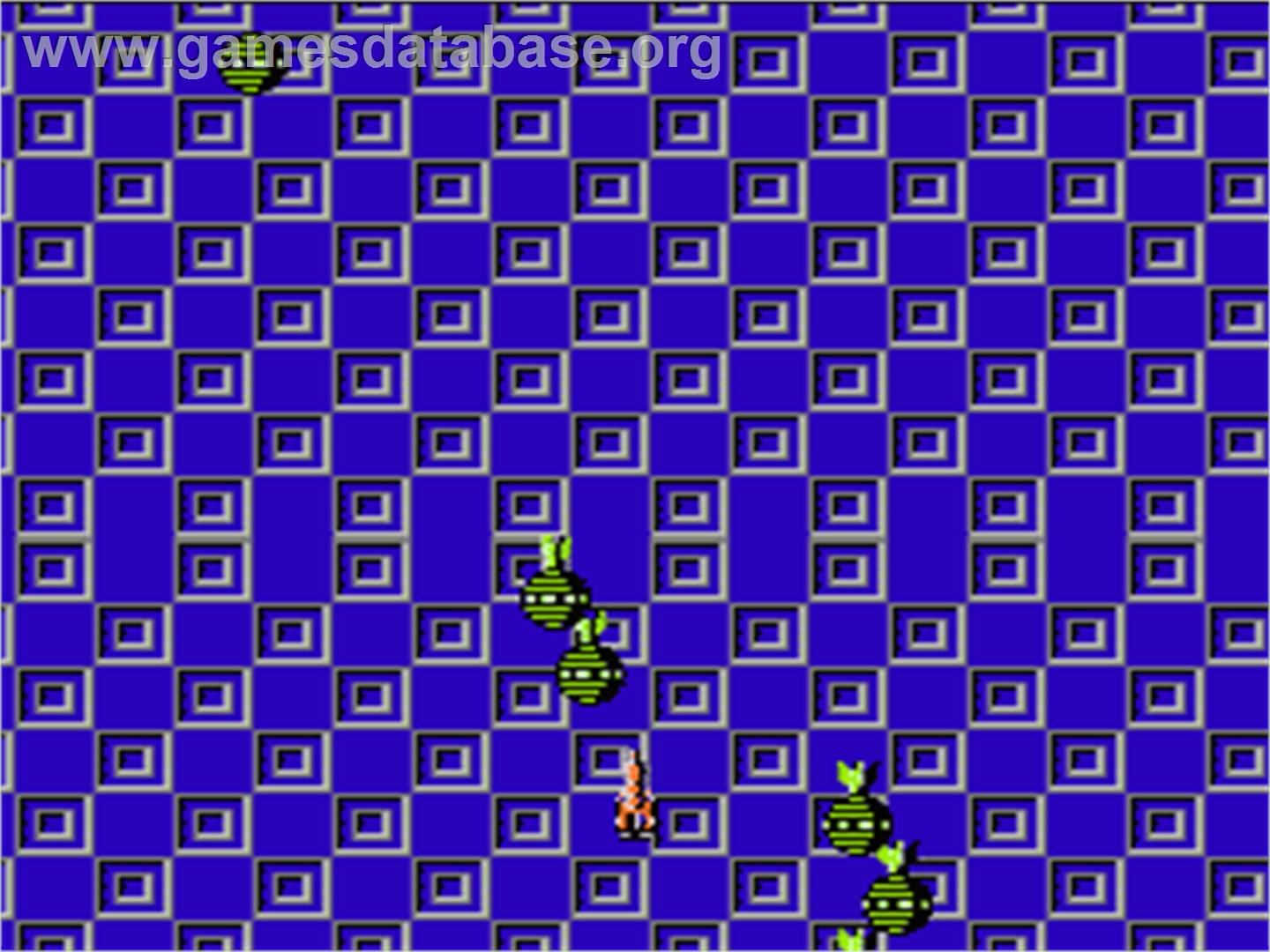 In game image of B-Wings on the Nintendo NES.