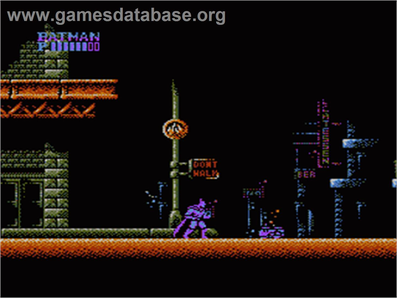 Batman The Video Game Nintendo Nes Games Database
