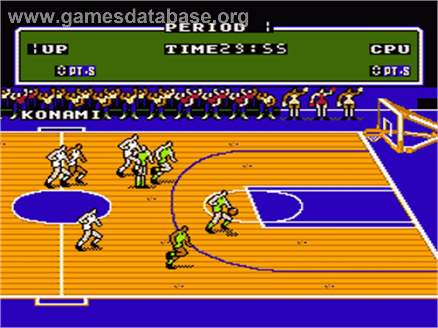 Double Dribble - Nintendo NES - Artwork - In Game