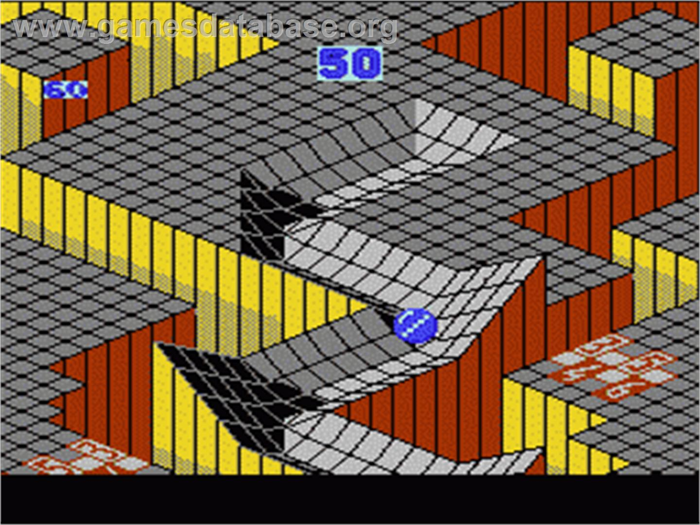 Marble Madness - Nintendo NES - Artwork - In Game