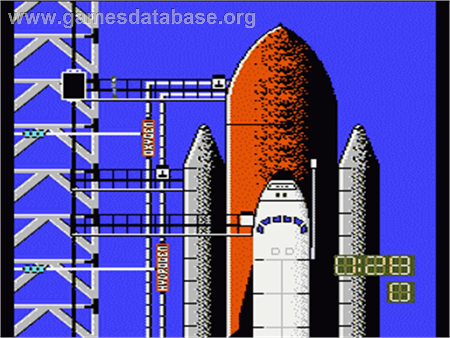 Space Shuttle Project - Nintendo NES - Artwork - In Game