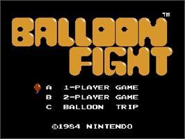 Original 8-bit NES Soundtracks @ vertigofx com - Balloon Fight