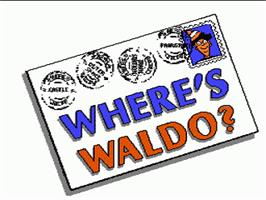 Title screen of Where's Waldo? on the Nintendo NES.