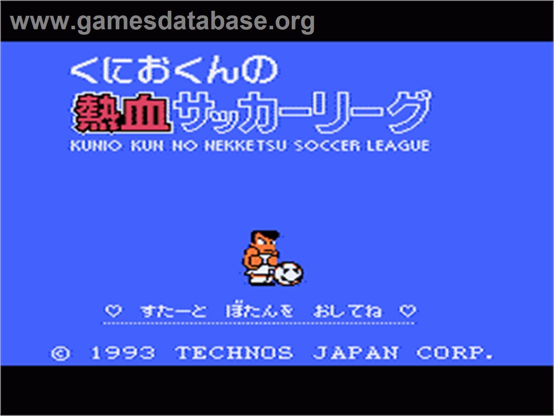 Kunio Kun no Nekketsu Soccer League ROM Download for NES