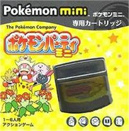 Box cover for Pokemon Party Mini on the Nintendo Pokemon Mini.