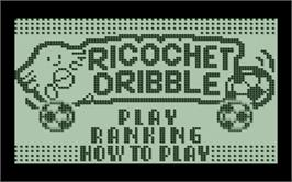 Box cover for Pokemon Party Mini - Ricochet Dribble on the Nintendo Pokemon Mini.