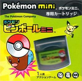 Box cover for Pokemon Pinball Mini on the Nintendo Pokemon Mini.