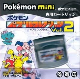 Box cover for Pokemon Puzzle Collection Vol. 2 on the Nintendo Pokemon Mini.
