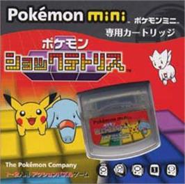 Box cover for Pokemon Tetris on the Nintendo Pokemon Mini.