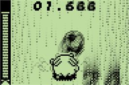 In game image of Pokemon Party Mini - Ricochet Dribble on the Nintendo Pokemon Mini.