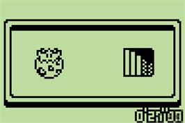 In game image of Togepi no Daibouken on the Nintendo Pokemon Mini.