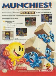 Advert for Pac-Attack on the Philips CD-i.