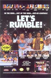 Advert for WWF Royal Rumble on the Nintendo SNES.