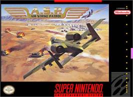 Box cover for A.S.P.: Air Strike Patrol on the Nintendo SNES.