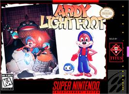 Box cover for Ardy Lightfoot on the Nintendo SNES.