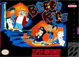 Box cover for Bebe's Kids on the Nintendo SNES.