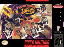 Box cover for Boxing Legends of the Ring on the Nintendo SNES.