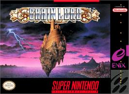 Box cover for Brain Lord on the Nintendo SNES.